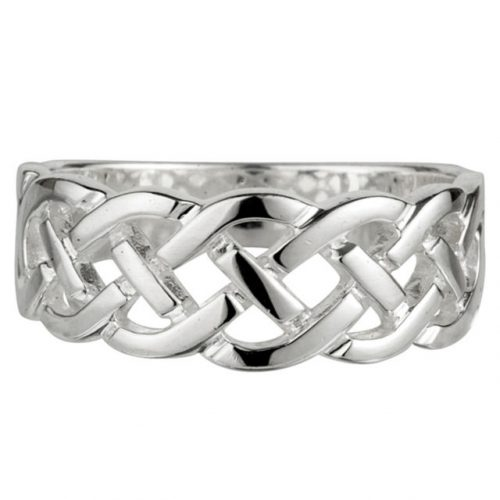 Solvar Celtic Knot Sterling Silver Ring